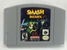 For N64 SMASH REMIX game Card English US version