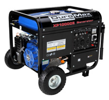 DuroMax 10000 Watt 18hp Portable Gas Electric Start Generator RV Home Standby