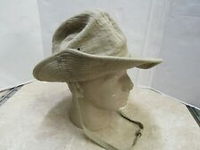 French Indochina Vietnam Bush Hat Khaki Israeli Marked Size 58 Original
