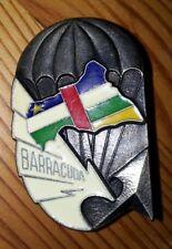 Insigne Opération BARRACUDA République CENTRAFRICAINE ancre argent para OPEX TDM