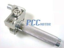 "7/8"" SILVER CNC THROTTLE CLAMP HONDA CRF70 KLX110 SDG SSR 107 110 125 I CL06"