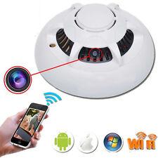 HD 1080P IP Camera WiFi Hidden Smoke Detector Nanny Cam DV DVR Video Recorder TL
