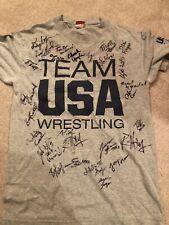 2015 Usa Wrestling World Team Trials Signed Shirt, Description For Signatures