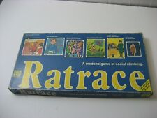 Vintage 1970 RATRACE Board Game Waddingtons 100% COMPLETE rare