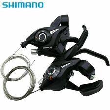 Shimano ST-EF51 GEAR Shifter/Brake Lever 3 x 7,8,21,24 Speed Set Black Lever US