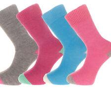 4 pairs of Alpaca Contrast Heel and Toe Socks 55% Alpaca Wool  Gift Idea P