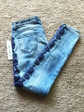 Frankie Morello Embroidered Jeans Size 44