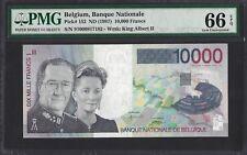 Belgium P-152 ND (1997) PMG Gem UNC 66 EPQ 10,000 (10000) Francs