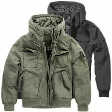 Brandit Bronx Jacket Kapuze Jacke Bomberjacke Blouson Army Winterjacke S-XXL