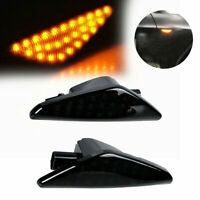 LED Side Marker Water Lights 2Pcs Amber For BMW E70 X5 E71 X6 F25 X3 LD2025
