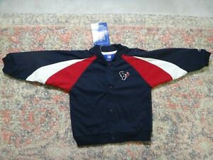 Reebok Houston Texans Jacket~Blue/Red/White~Size Toddler 24 Month~New With Tags