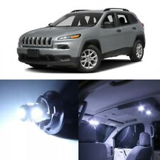 13 x White LED Interior Lights Package Kit For Jeep Cherokee 2014 - 2019 + TOOL