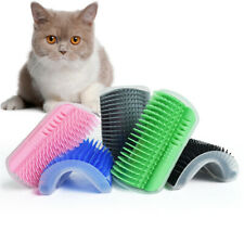 Pet Cat Self Groomer Brush Wall Corner Grooming Massage Comb Toy Cats Pet Toy