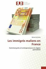 Les immigres maliens en france, DICKO-B New 9786131583797 Fast Free Shipping,,