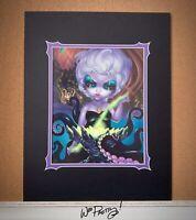 2017 Jasmine Becket Griffith Disney Villain Ursula WonderGround Deluxe Print
