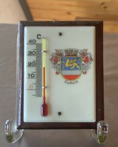 Andenken Thermometer ROSTOCK DDR #74