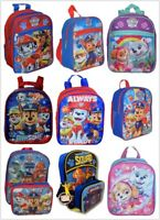 """Paw Patrol Boys & Girls Scool Backpack Different Size 10"""" - 16"""""""