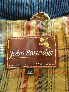 JOHN PARTRIDGE LIGHTWEIGHT WAXED COTTON JACKET