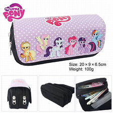 My little Pony Pen Pencil Case Zipper Stationery Make Up Bag box cosplay