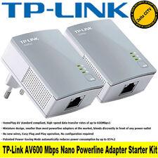 TP-LINK AV600 NANO ADATTATORE DI RETE POWERLINE STARTER KIT-TL-PA4010KIT