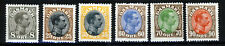 DENMARK 1913-28 A King Christian X Group Perf.14x14½ SG 137 to SG 165 MINT