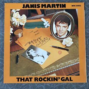 Janis Martin That Rockin' Gal Vinyl LP RCA Bear Family Records 1979 BFX 15032