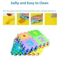 36pcs Kid Baby Alphabet/Number Interlocking EVA Mats Play Puzzle Educational Toy