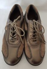 Padders Libby Women's Brown Leather Lace Up Casual Shoe Trainers UK 4 EU 37 £85