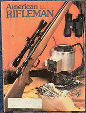 Vintage Magazine American Rifleman, MARCH 1981 ! VALMET Model 412 O/U SHOTGUN !