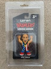 Kurt Angle Micro Brawler 33 of 150 Limited Edition In Case Defender TNA WWE WWF