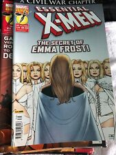 Marvel Comics Essential X-men July 2009 Comic Book The Secret Of Emma Frost 179