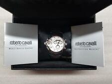 ROBERTO CAVALLI CHRONOGRAPH MULTI-FUNCTION ST.STEEL MEN'S WATCH R7273649015 NEW