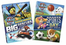 Paw Patrol: Brave Heroes Big Rescues and Sports Day [DVD Combo, Region 1] NEW