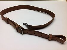 SURPLUS HUNGARIAN LEATHER RIFLE SLING MILITARY 7.62x39/5.45x39 AK/SKS