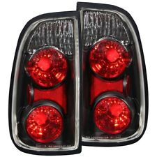 TOYOTA TUNDRA 00-06 EURO TAIL LIGHTS BLACK HOUSING REGULAR CAB & ACCESS CAB ONLY