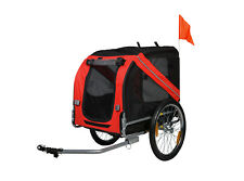 Dog Bike Trailer Pet Cat Bicycle Carrier Stroller Jogger Shopping Wagon