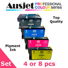 Ausjet 200xl 220xl Non-oem Black Ink Cartridge for Lexmark OfficeEdge Pro 2 Cartridges