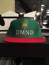 Diamond Supply Co SnapBack Hat Green/Red