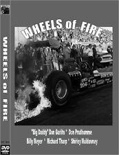 WHEELS OF FIRE (1973) DVD Big Daddy Don Gartis , Dragster  nostalga Drag Racing