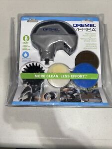 DREMEL VERSA POWER SCUBBER KIT PC10-01 RECHARGABLE WATERPROOF CLEANING TOOL