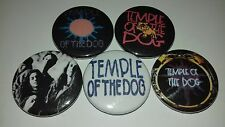 5 Temple of the Dog pin button badges 25mm Eddie Veder Chris Cornell Pearl Jam