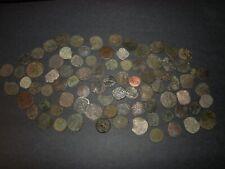 Medieval Silver Billon 84 Coins Lot 1100-1500's Crusader Templar Cross Ancient