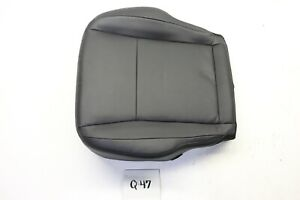 NEW OEM MONTERO PAJERO 07-15 BLACK LEATHER LOWER SEAT COVER RIGHT RH perf