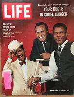 LIFE Magazine Feb 4, 1966 Greatest Negro Stars Team Up
