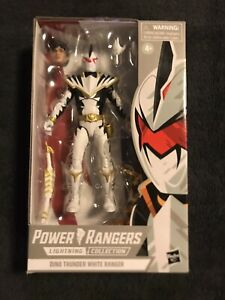 Hasbro Lightning Collection Mighty Morphin Walgreens Dino Thunder White Ranger