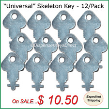 """Universal"" Skeleton Key for Paper Towel & Toilet Tissue Dispensers - (12/pk.)"