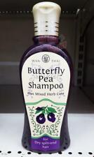 Wan Thai Butterfly Pea Shampoo Plus Mixed Herb Core Dry Split-end Hair 200ml.
