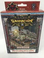 Warmachine Khador Winter Guard Rifle Corps PIP 33096 NIB FREE SHIPPING