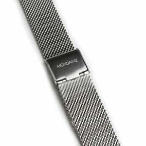 *NEW* Genuine Mondaine Stainless Steel Milanese Mesh Strap (16mm Lug Width)