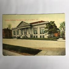 Emeline Fairbanks Memorial Library Terre Haute Indiana Unposted Postcard